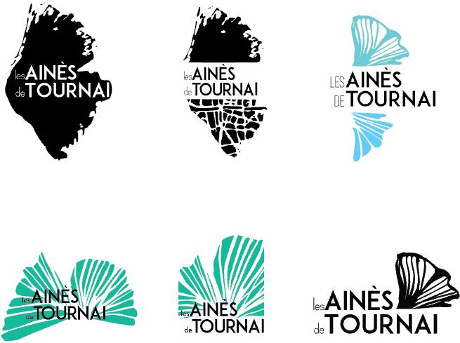 Différentes proposition de logo. Une étape très importante dans la création.