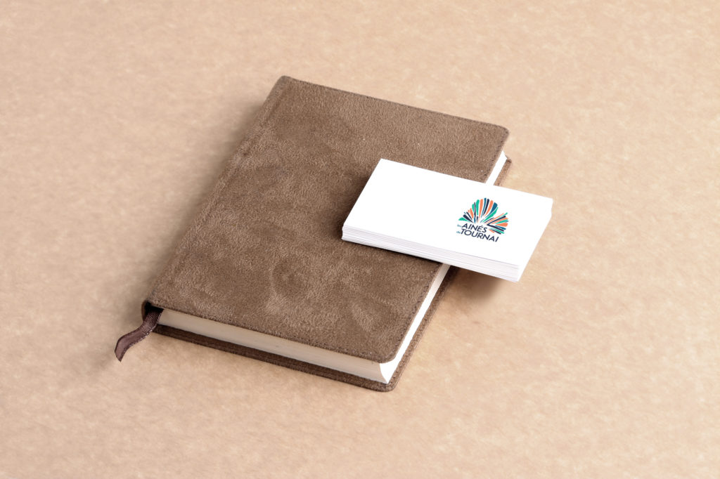 Les aînés de Tournai - cartes de visite et agenda