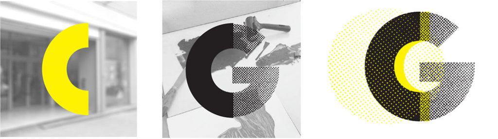éléments graphiques du logo