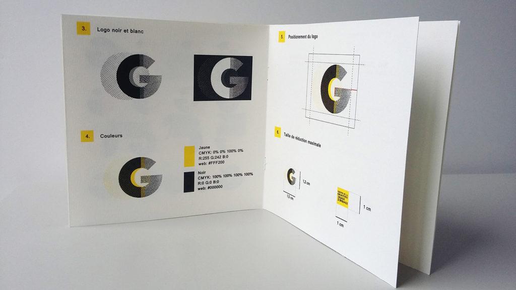 guide d'utilisation du logo