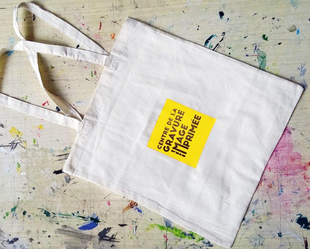sac imprimé avec logo