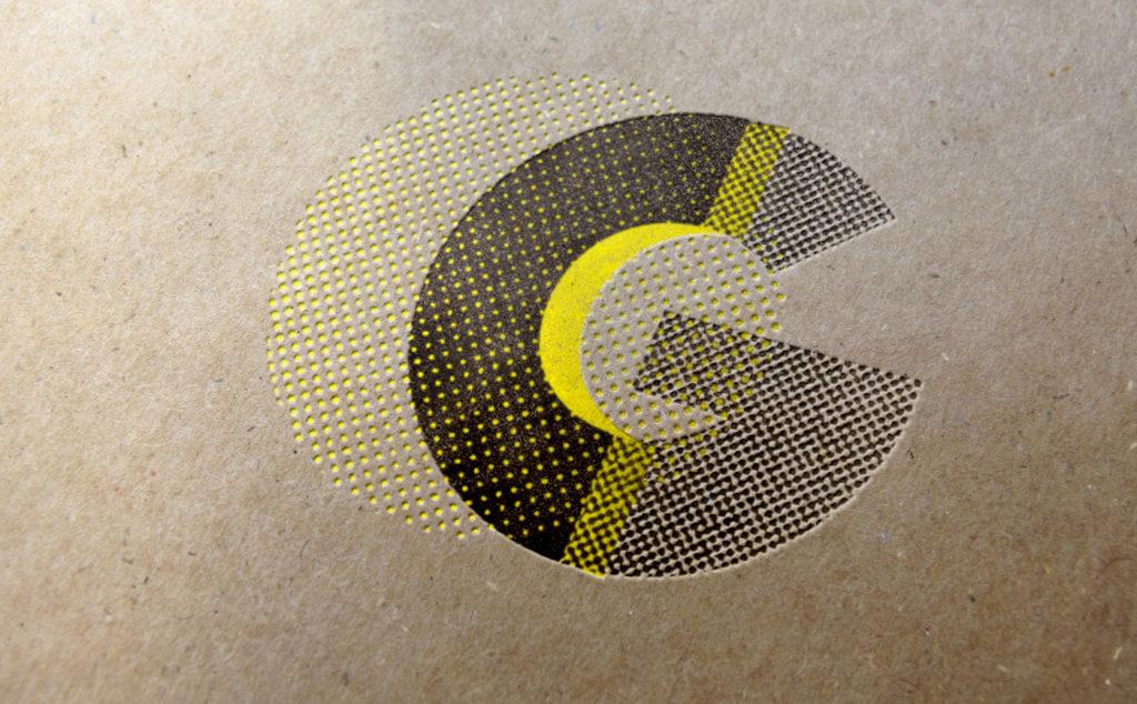 Logo texturé