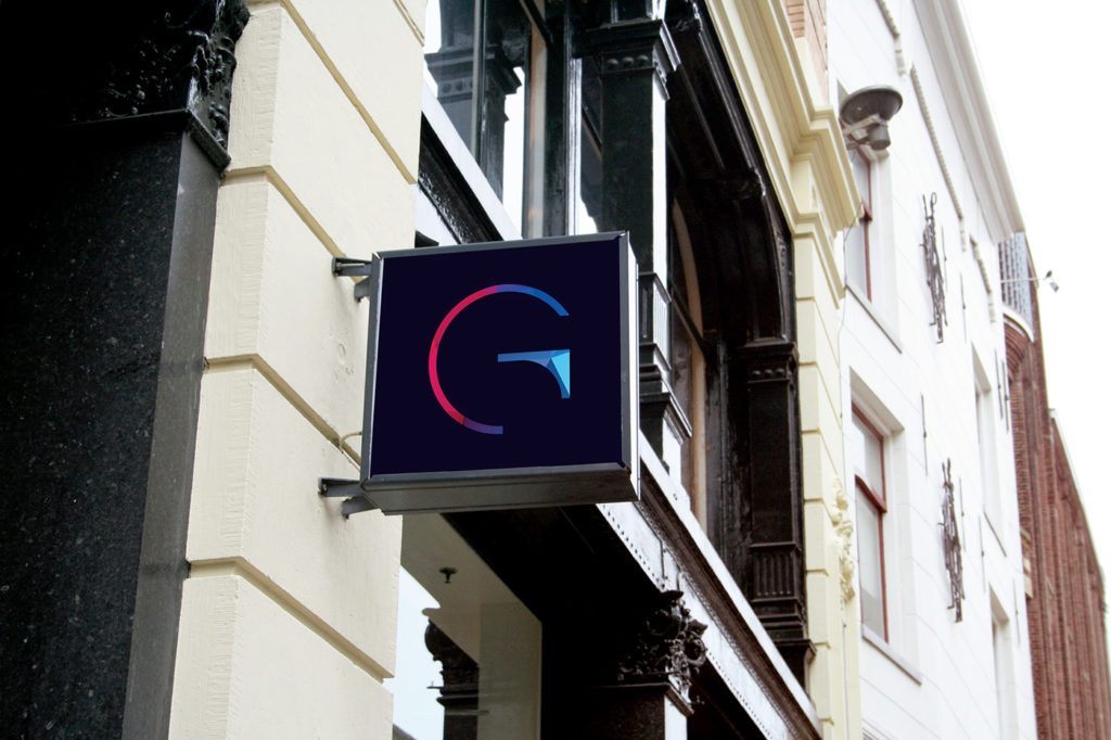 logo and branding glamarome