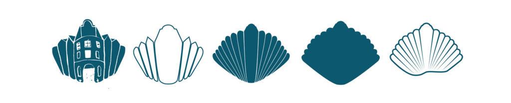 Des étapes de recherche dans la création logo.