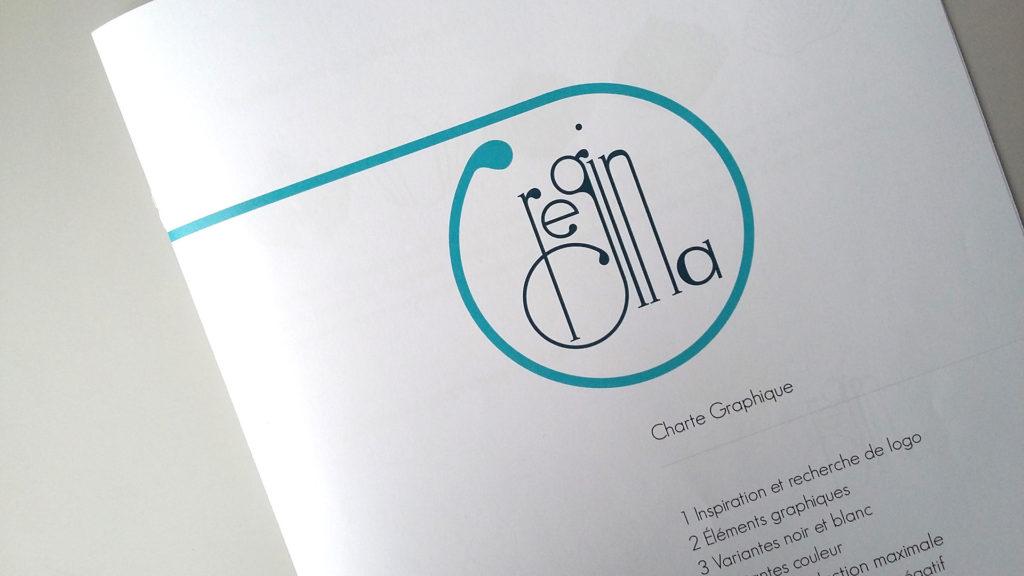 Logo design and branding hotel regina