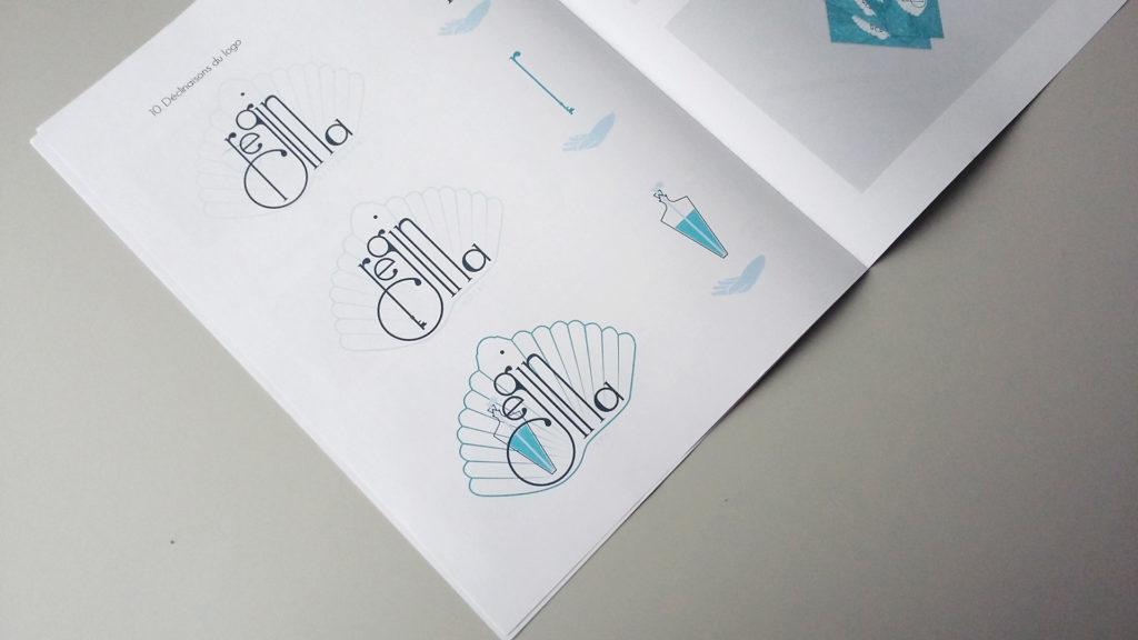 Aperçu de la charte graphique du projet de création logo et branding pour une chaîne hostellerie.