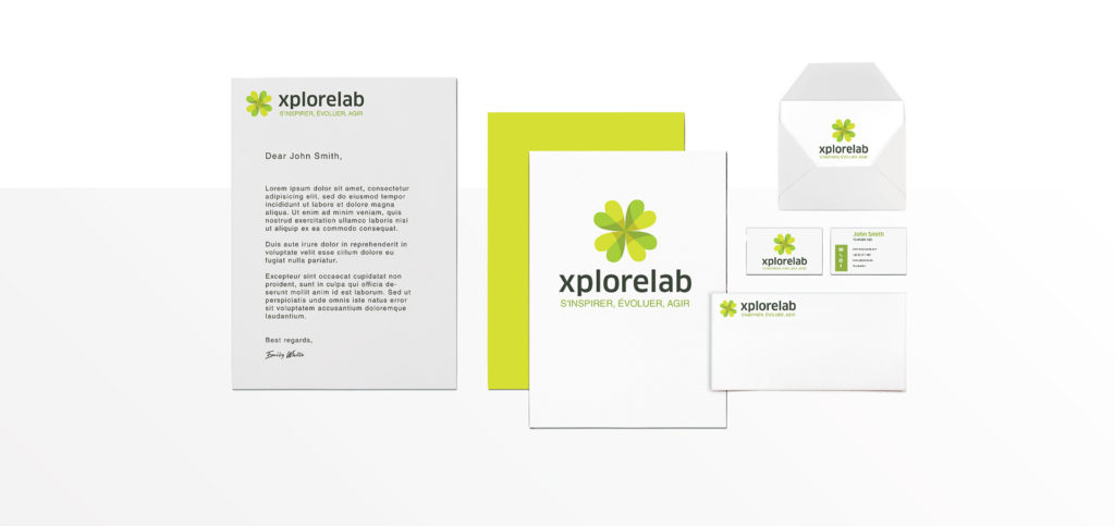 logo design and branding xplorelab