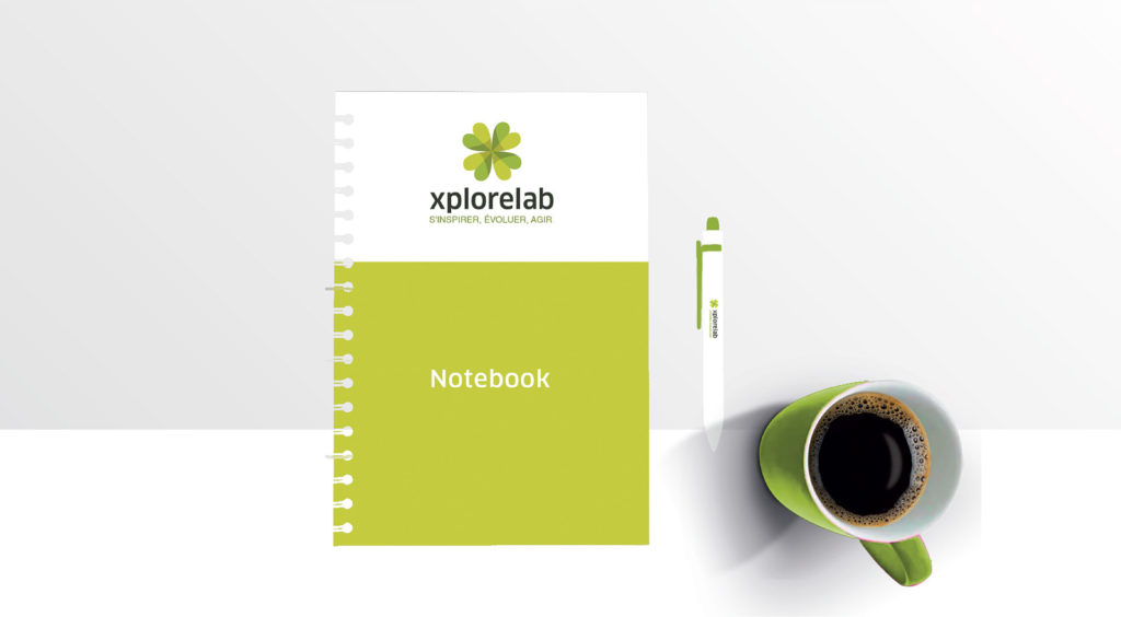 logo design et branding xplorelab