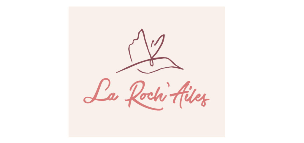 Branding and web design, logo la roch'ailes