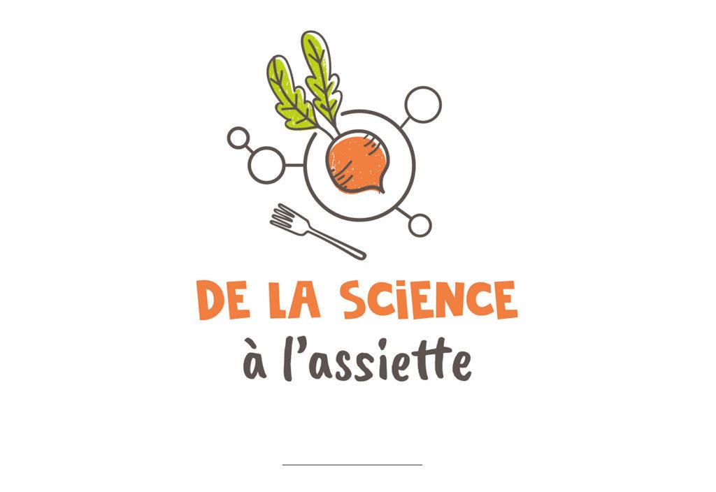 Création logo de la Science à l'Assiette