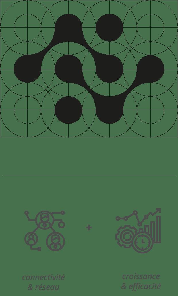 logo design and rebranding tech belgian company